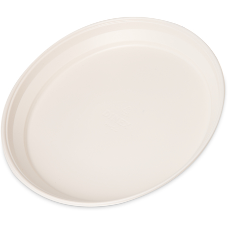 "DXHH10 - Entree (one compartment) Disposable Plastic Dishware 7-3/4"" (500/cs) - White"