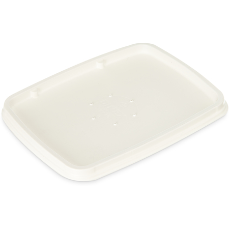 DXHH30 - Retangular Soup Bowl Lid (1000/cs) - Natural