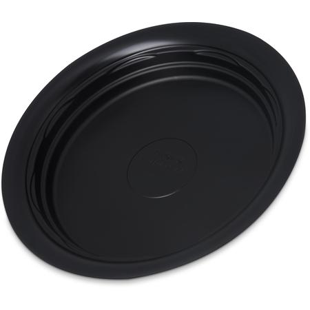 "DXHHPL703 - High Heat Disposable Plate 8"" (500/cs) - Black"