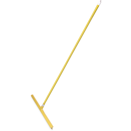 """36568KIT04 - Sparta® Single Blade Squeegee with Handle 24"""" - Yellow"""
