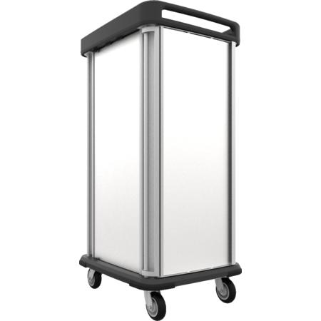 DXSU2T1D20 - Dinex® TQ Supreme Cart - 2 Trays 1 Door 20 Trays - Stainless Steel