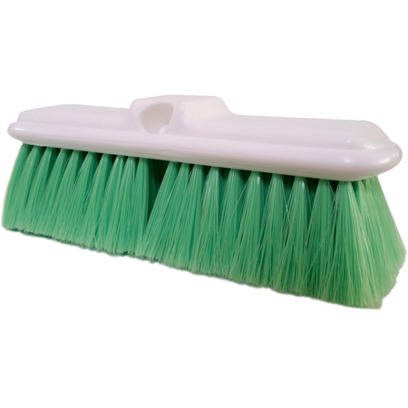 "4005075 - Flo-Pac® Flo-Thru Nylex Brush With Flagged Nylex Bristles 9-1/2"" - Green"