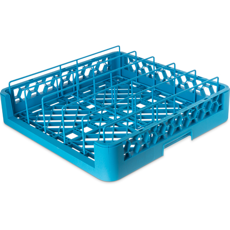 RFP14 - OptiClean™ Food Pan/Insulated Meal Delivery Tray Rack 3.25 - Carlisle Blue