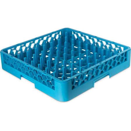 "RTP14 - OptiClean™ All-Purpose Peg Dish Rack 3"" Pegs - Carlisle Blue"
