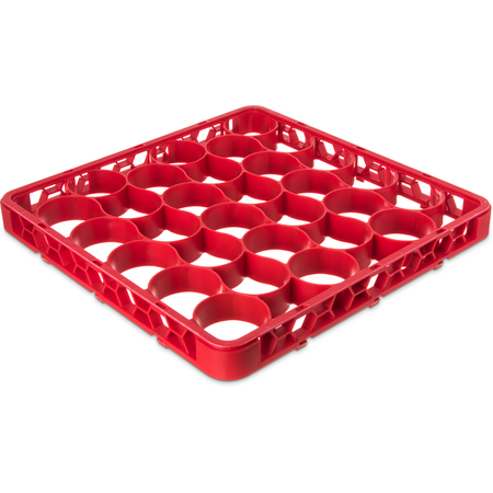 REW30SC05 - Color-Coded Short Glass Rack Extender 30 Compartment - Red