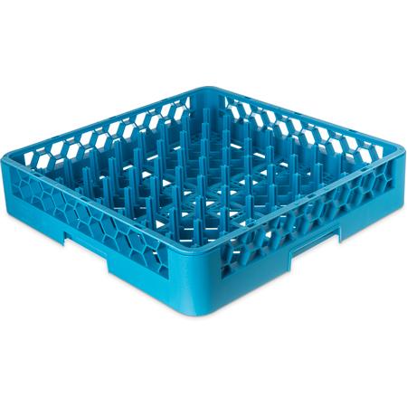 "RP14 - OptiClean™ All-Purpose Peg Dish Rack 2.5"" Pegs - Carlisle Blue"