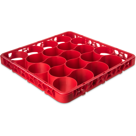 REW20LC05 - OptiClean™ NeWave™ Color-Coded Long Glass Rack Extender 20 Compartment - Red