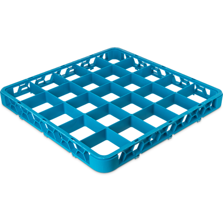 "RE2514 - OptiClean™ 25-Compartment Divided Glass Rack Extender 1.78"" - Carlisle Blue"