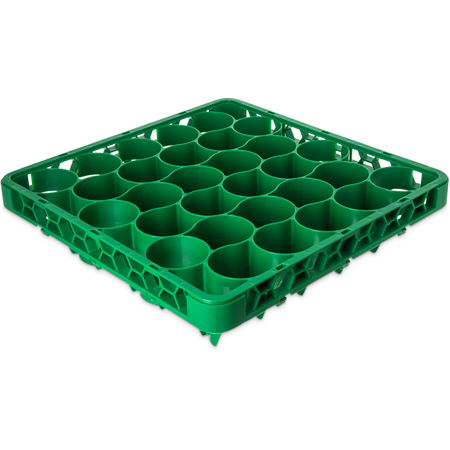 REW30LC09 - OptiClean™ NeWave™ Color-Coded Long Glass Rack Extender 30 Compartment - Green