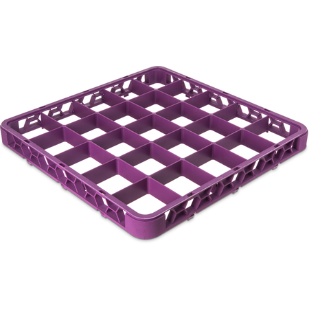 "RE25C89 - OptiClean™ 25-Compartment Divided Glass Rack Extender 1.78"" - Lavender"