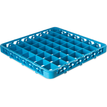 """RE4914 - OptiClean™ 49-Compartment Divided Glass Rack Extender 1.78"""" - Carlisle Blue"""