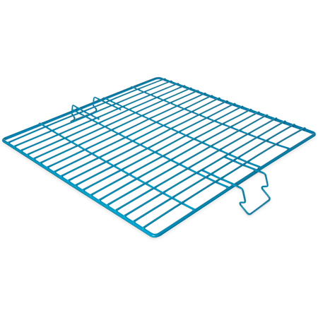 "C9314 - OptiClean™ Vinyl Coated Steel Wire Grid 17.9"" x 17.9"" x 0.3"" - Carlisle Blue"
