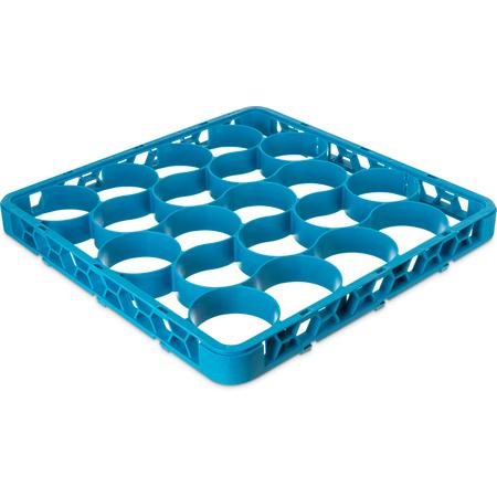 REW20S14 - OptiClean™ NeWave™ Short Glass Rack Extender 20 Compartment - Carlisle Blue