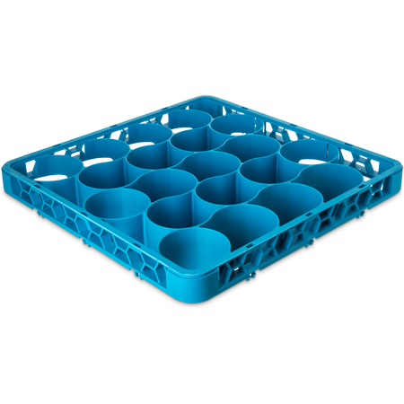 REW20L14 - OptiClean™ NeWave™ Long Glass Rack Extender 20 Compartment - Carlisle Blue