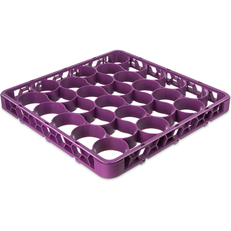 REW30SC89 - OptiClean™ NeWave™ Color-Coded Short Glass Rack Extender 30 Compartment - Lavender
