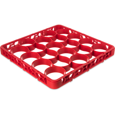 REW20SC05 - OptiClean™ NeWave™ Color-Coded Short Glass Rack Extender 20 Compartment - Red