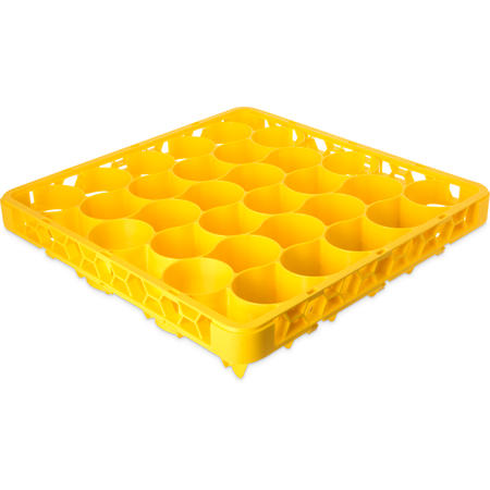 REW30LC04 - OptiClean™ NeWave™ Color-Coded Long Glass Rack Extender 30 Compartment - Yellow