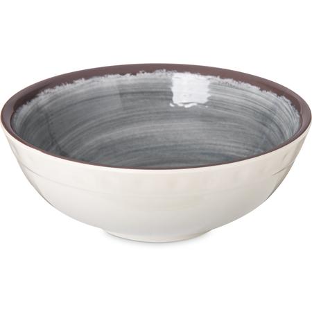 5400518 - Mingle Melamine Small Bowl 17 oz - Smoke