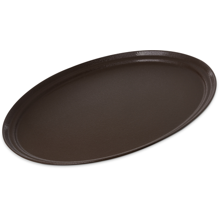 "2500GR2076 - Griptite 2 Oval Tray 24"" x 19"" - Brown"
