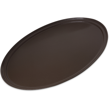 "3100GR2076 - Griptite 2 Oval Tray 31"" x 24"" - Brown"