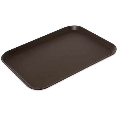 "1814GR2076 - Griptite 2 Rectangle Tray 18"" x 14"" - Brown"
