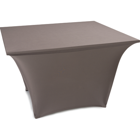 "EMB5026S3030046 - Embrace™ Square Stretch Table Cover 30"" x 30"" x 30"" - Burgundy"