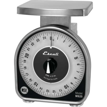 SCMDL25 - NSF LISTED MS-SERIES DIAL SCALE, 25 LB