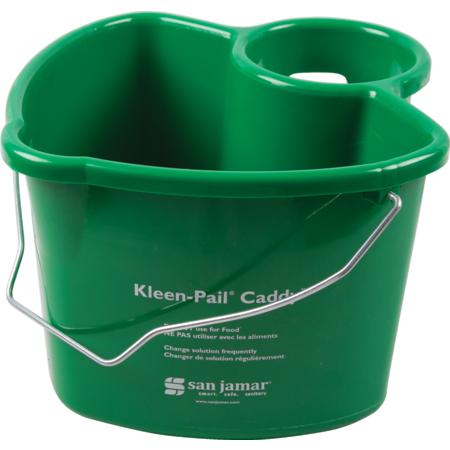 KP500 - KLEEN-PAIL CADDY, GREEN