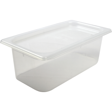 MP13 - MOD PAN,4 QUART 1/3 PAN&LID12PER CS