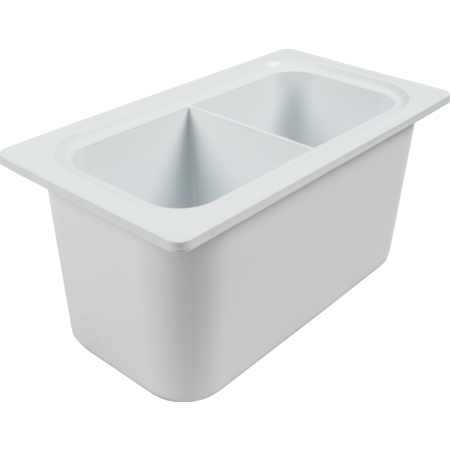 CI7002WH - **CHILL-IT PAN, 1/3 - WHITE DIVIDED