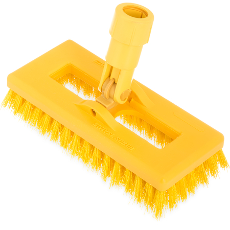"3638831C04 - Swivel Scrub® w/Polyester Bristles 8"" - Yellow"