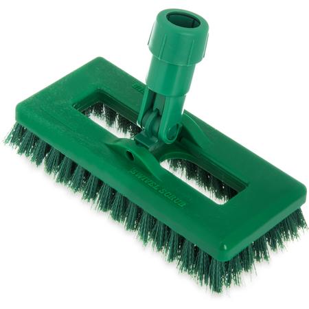 "3638831C09 - Swivel Scrub® w/Polyester Bristles 8"" - Green"