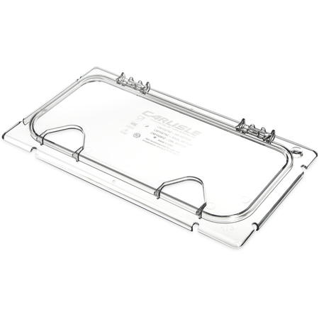 CM10280Z07 - Coldmaster® EZ Access Lid with Notches 1/3 Size - Clear