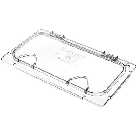 CM10280Z07 - Coldmaster® EZ Access Lid w/ 2 Notches 1/3 Size - Clear