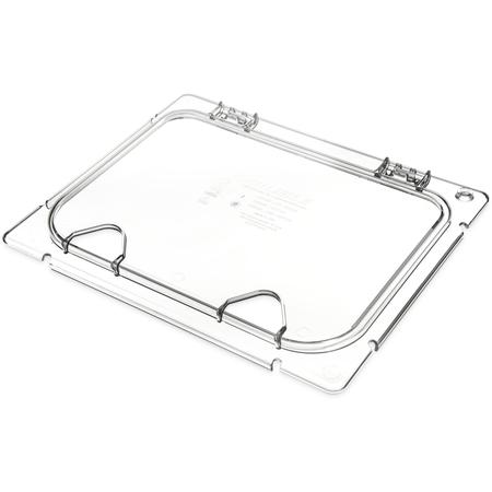 CM10240Z07 - Coldmaster® EZ Access Lid w/ 2 Notches 1/2 size - Clear