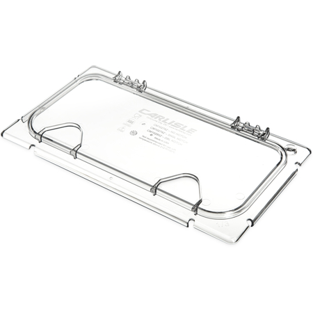 CM10279Z07 - Coldmaster® EZ Access Lid with Notch 1/3 Size - Clear