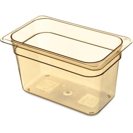 "3088213 - StorPlus™ High Heat Food Pan 1/4 Size, 6"" Deep - Amber"