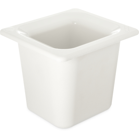 "CM110402 - Coldmaster® 6"" Deep Sixth-size Food Pan 1.6 qt - White"