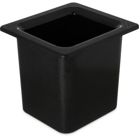 "CM110503 - Coldmaster® 6"" Deep High Capacity Sixth-size Food Pan 1.7 qt - Black"