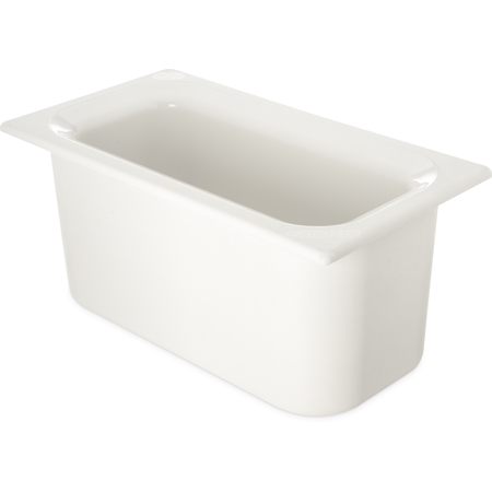 "CM110202 - Coldmaster® 6"" Deep Third-size Food Pan 4 qt - White"