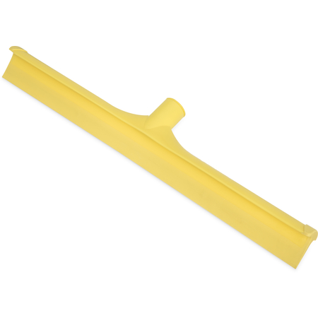 "3656704 - Sparta® Single Blade Squeegee 20"" - Yellow"