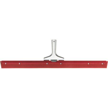 4007600 - Flo-Pac® Straight Red Gum Rubber Floor Squeegee With Heavy Duty Steel Frame 24""