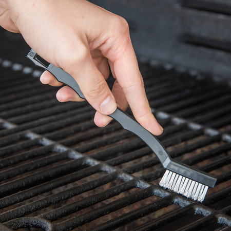 """4067500 - Flo-Pac® Utility Brush with Crimped Stainless Steel Bristles 7"""" Long"""