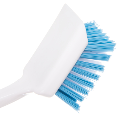 "361014100 - Sparta® Angled Dish & Sink Brush 11.5"" - White-Blue"