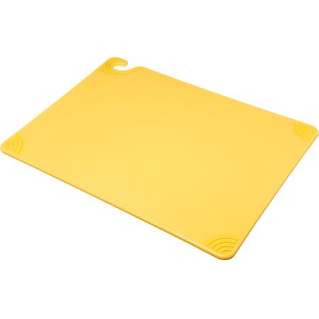 "CBG182412YL - Saf-T-Grip Cutting Board 18"" x 24"" x 0.5"" - Yellow"