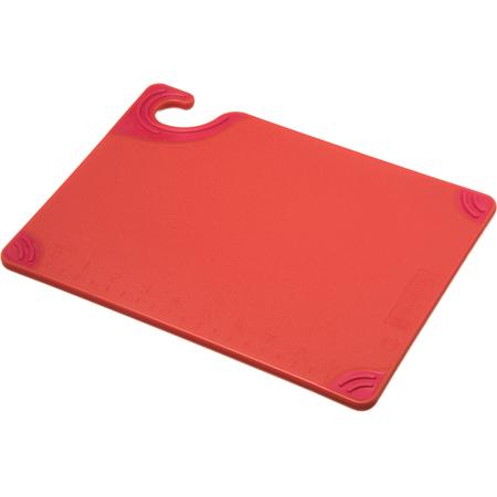 """CBG912RD - Saf-T-Grip Cutting Board 9"""" x 12"""" x 0.375"""" - Red"""