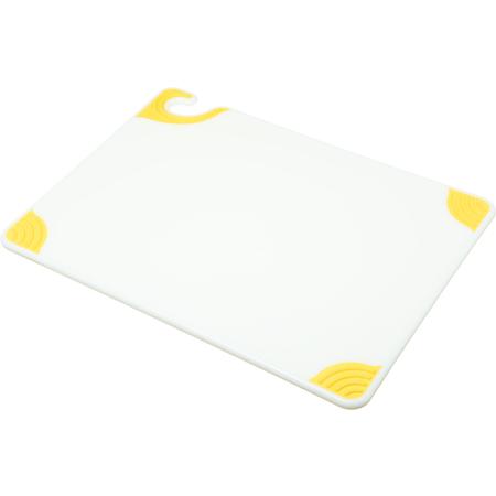 """CBGW152012YL - Saf-T-Grip Cutting Board 15"""" x 20"""" x 0.5"""" - Yellow"""