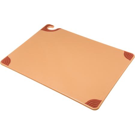 """CBG182412BR - Saf-T-Grip Cutting Board 18"""" x 24"""" x 0.5"""" - Brown"""