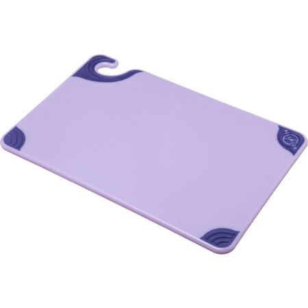 """CBG121812PR - Allergen Saf-T-Grip Cutting Board 12"""" x 18"""" - Purple"""
