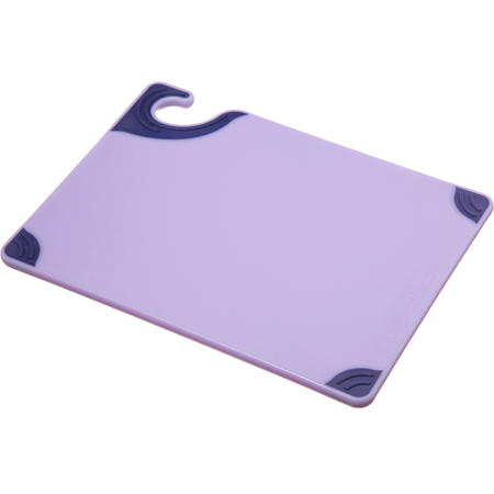 """CBG912PR - Allergen Saf-T-Grip Cutting Board 9"""" x 12"""" - Purple"""
